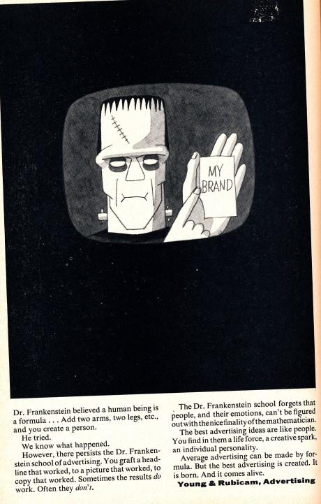 Frankenstein add