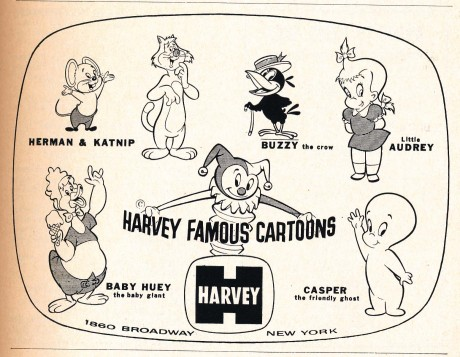 Harvey Famous Cartoons