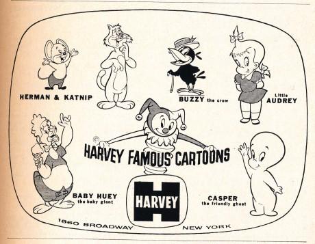 Harvey Famous Cartoons