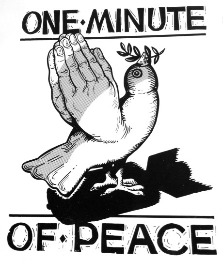 One Minute of Peace LP cover