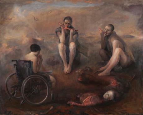 Odd Nerdrum - Cannibals