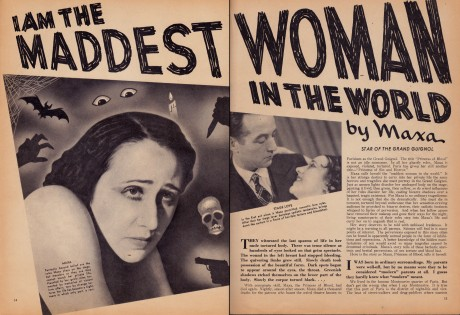 """""""I Am the Maddest Woman in the World"""""""
