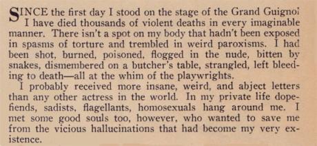 Maxa discusses her unique career in this excerpt
